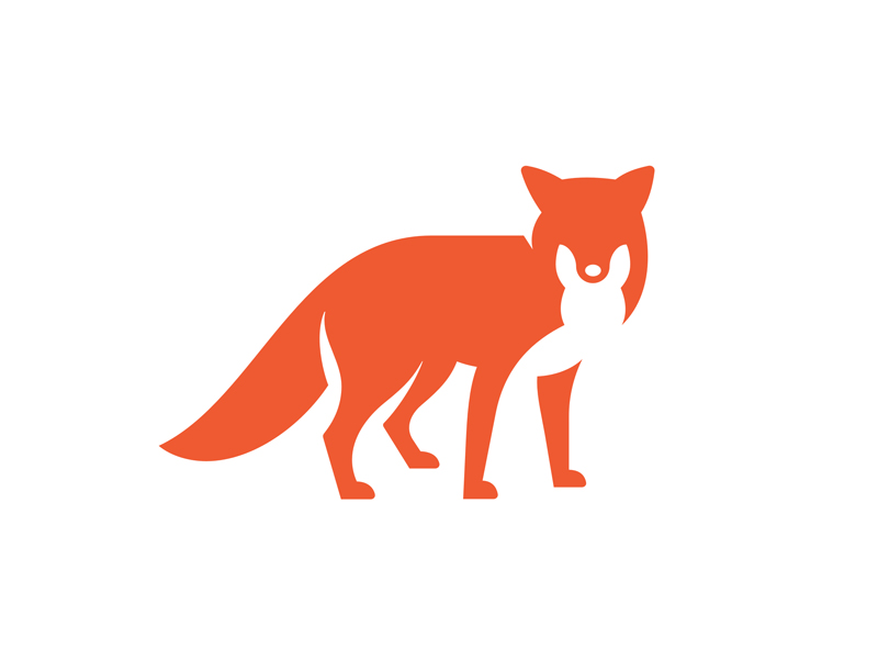 30 best of fox logo examples for your design inspirations