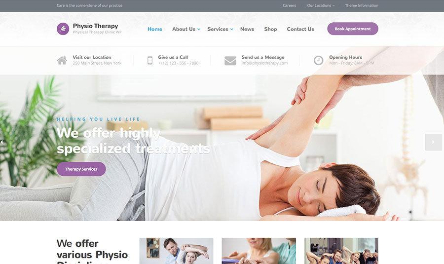 physio-hospital-wordpress-theme