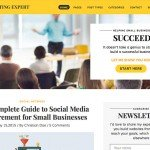 Expert-WordPress-blog-theme