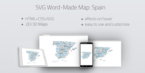 20 powerful html5 interactive world map examples show wp svg word made map spain gumiabroncs Image collections