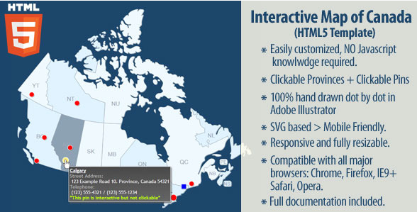 20 powerful html5 interactive world map examples show wp interactive map of canada gumiabroncs Image collections