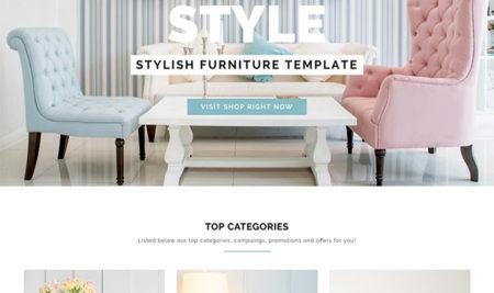 Responsive Furniture Interior WordPress Theme