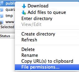 file permissions
