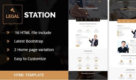 25+ Business Lawyer Website Templates for Professional