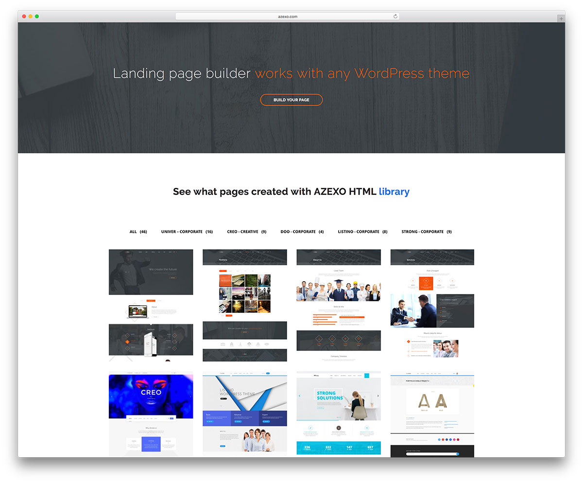 Azexo – WordPress Page Builder